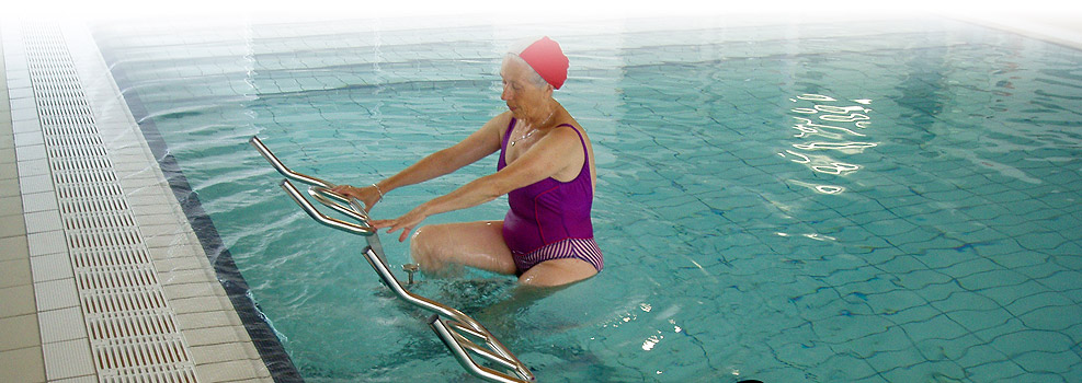 poolbiking rehabilitation