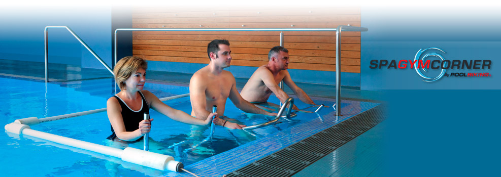 poolbiking spa gym corner